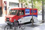 Camion de la poste