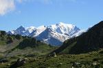 Mont-Blanc vue de la Gitte