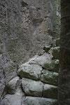 Escalier non rénové