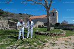"""Die """" Amigos"""" am Rande von Dreharbeiten im April 2013 auf der Insel Krk © Kerstin Joensson"""