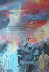 Revierviecher XII 120 x 80 cm