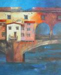 Florenz, Ponte Vecchio I von Diptycon, (100/80cm)
