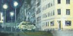 """""""Stadt bei Nacht"""" (80 x 160 cm)"""