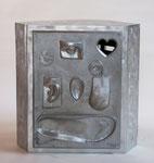 Eindreiheit Nr.1, Alu-Guss, Aluminium,