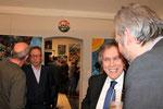 Friedrich Wiesinger mit Josef Wiesinger, Emil Brix und Werner Groiß