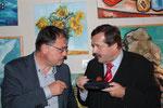 GR Karl-Heinz Drlo, Werner Gruber (Foto GR Klaus Bergmaier, SPÖ Niederösterreich)