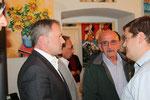 Dir. Günter Steindl, LAbg. Josef Wiesinger, GR Friedrich Wiesinger, GGR Christian Schuh (Foto GR Klaus Bergmaier, SPÖ Niederösterreich)
