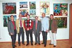 Offizielles Pressefoto mit Matthias Laurenz Gräff, Günter Stummvoll, Friedrich Polleroß etc. Copyright NÖN Zwettl