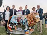 Präsentation auf der Rosenburg (Foto Lions Club Horn)