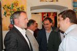 Dir. Günter Steindl, LAbg. Josef Wiesinger, GR Karl-Heinz Drlo, GR Christian Schuh (Foto GR Klaus Bergmaier, SPÖ Niederösterreich)