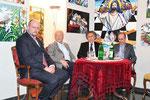 Philipp Jauernik, Hannes Swoboda, Emil Brix, Eric Frey