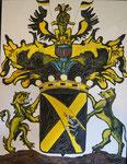 """Matthias Laurenz Gräff, """"Wappen der Freiherren von Eberl"""", Sammlung Mag. Gerhard Eberl (Niederösterreich)"""