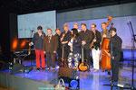 Matthias Laurenz Gräff auf der Bühne mit der Mojo Blues Band, Al Cook etc. Foto privat