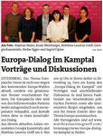 Vorankündigung Bezirksblätter Horn (Woche 18)