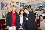 Matthias Laurenz Gräff, Georgia Kazantzidu, Werner Gruber (Foto GR Klaus Bergmaier, SPÖ Niederösterreich)