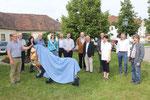 Alle Beteiligten ... Matthias Laurenz Gräff (Mitte) (Pressefoto Rupert Kornell)