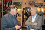 Martin Jarmer mit Hannes Swoboda