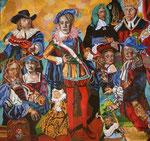 Ahnenfolge, 2007, 150x160 cm