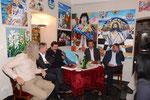 StR Martin Litschauer, Dir. Günter Steindl, Werner Gruber, NR Martina Diesner-Wais, Herbert Kolinsky, NR Alois Kainz (Foto Bezirksblätter Horn, Günther Winkler)