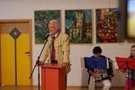 BH von Zwettl,  Dr. Michael Wiedermann, Rede zur Ausstellung von Matthias Laurenz Gräff