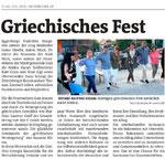 Bericht in den Bezirksblättern Horn (Woche 29)