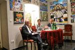 Podium mit Bernd Pinzer, Indra Collini und Helmut Hofer-Gruber