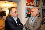 Josef Wiesinger mit Hannes Swoboda