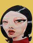 TerOo, Acrylic On Paper (40x30 cm)