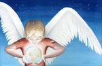 flying brigade, aquarel zonder glas 34 x 53 cm