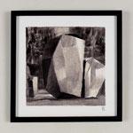 Estudio-Necropolis-039 - Dibujo y óleo sobre papel 27cm X 27cm