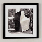 Estudio-Necropolis-032 - Dibujo y óleo sobre papel 27cm X 27cm