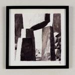 Estudio-Necropolis-036 - Dibujo y óleo sobre papel 27cm X 27cm