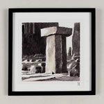 Estudio-Necropolis-043 - Dibujo y óleo sobre papel 27cm X 27cm