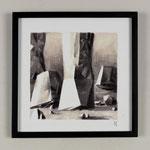 Estudio-Necropolis-037 - Dibujo y óleo sobre papel 27cm X 27cm