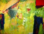 Linde, Acryl auf Leinwand, 80x100 cm