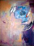 Gabe, Acryl auf Leinen, 100x80 cm