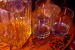 Frei verfügbare Spirituosen  der Minibar