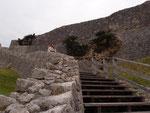 ココも世界遺産の「勝連城跡」