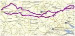 Routen-Verlauf am 24.5.14