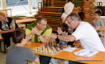 Der Schachverein Korneuburg beim Kinderstadtfest 2014