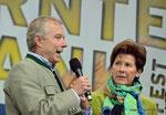 ORF Landesstudio Niederösterreich feiert den 45. Geburtstag (Landesdirektor Norbert Gollinger und Ingrid Wendl)