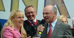 ORF Landesstudio Niederösterreich feiert den 45. Geburtstag (Birgit Perl und LH Dr. Erwin Pröll)
