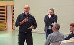 Dr. Werner Schwarz am 2. Korneuburger Sport- u. Gesundheitstag