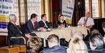 Pressestunde in Korneuburg mit den Spitzenkandidaten für die Gemeinderatswahl