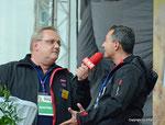 ORF Landesstudio Niederösterreich feiert den 45. Geburtstag (Hannes Wolfsbauer und Karl Trahbüchler)