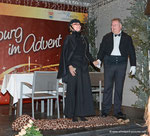 """Dinner for One"" am Korneuburger Adventmarkt 2014"