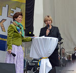 ORF Landesstudio Niederösterreich feiert den 45. Geburtstag (Ingrid Wendl und LR Barbara Schwarz)