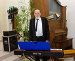 Wolfgang Leidenfrost am Klavier