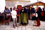Mittelalterlicher Adventmarkt in Korneuburg