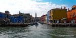 Insel Burano bei Venedig